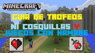 Minecraft - Trofeo: Ni cosquillas / Juegos con hambre - Expansion Pack 2/5 (PS4, PS Vita, PS3)