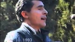 Hacıbaba Hüseynovla vida mərasimində Alim Qasımovun ifası