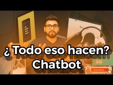 Chatbot facebook 🤖 / ya sabes todo lo que puedes hacer con esto? / marketing digital y redes