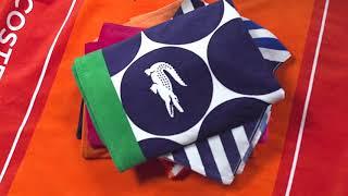 Sunham: Lacoste Beach Towels