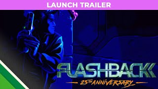 FLASHBACK Launch Trailer - Nintendo Switch