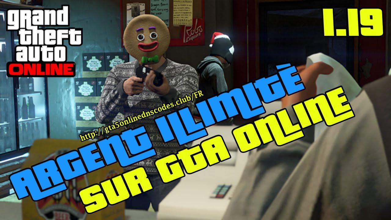 4 Jul 2015 ... Fonction du générateur pour Grand Theft Auto Online: http://gg.gg/3s7ey - Argent  illimités - Rp illimités. GTA V argent illimite, GTA 5 argent...