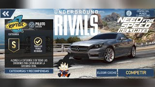 Need For Speed No Limits Android Rivales Clandestinos RipTide Piloto