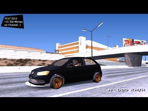VW Gol Turbo de Martin Gallego Test Drive GTA SA