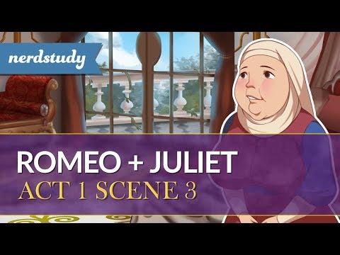 Romeo and Juliet Summary (Act 1 Scene 3) - Nerdstudy