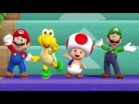 Mario Party 9 – Step it Up Challenge (7 Rounds)