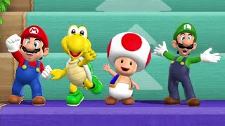Mario Party 9 - Step it Up Challenge (7 Rounds)
