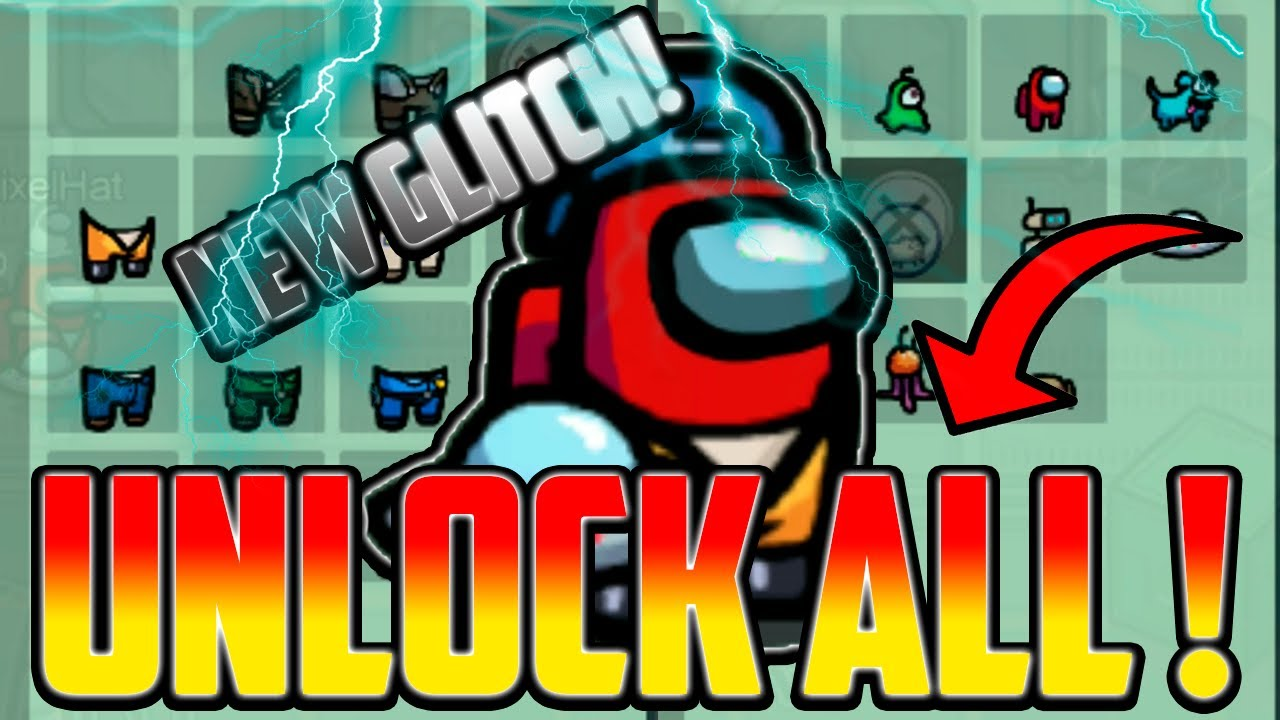 Download How to get ALL SKINS, PETS & HATS in Among Us! - GLITCH (2021) IOS/ANDROID