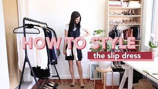 STYLING A SLIP DRESS 20 WAYS | Mademoiselle