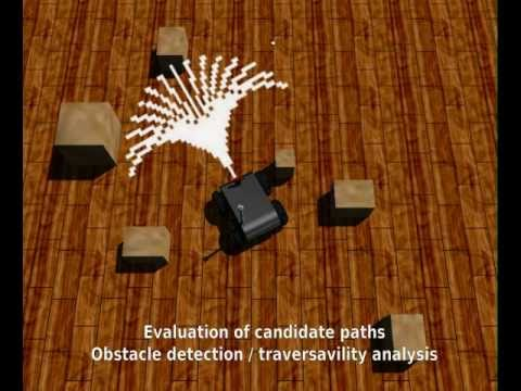 Visual-based Autonomous Robotics Navigation in Unknown Environments