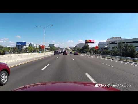 Billboard Video Ride: Digital Bulletin #807: I-275 and Memorial Hwy