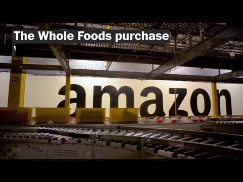 Amazon acquires Whole Foods. Here's why that's such a big deal