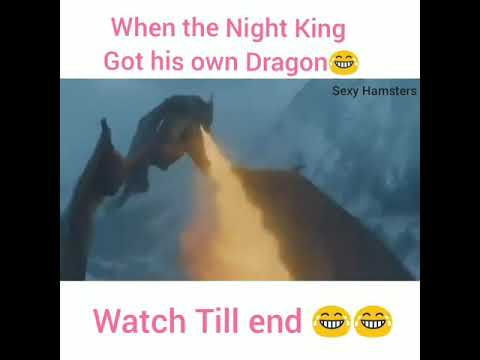 Funny Friday Night Meme : When the night king got his own dragon game of thrones s07e06
