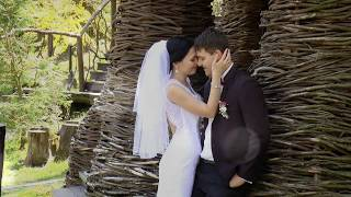 Красивый свадебный клип. Свадьба Харьков: венчание, прогулка, роспись