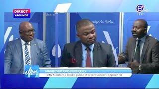 DROIT DE RÉPONSE DU 03/11/2019 (MANIFESTATION PUBLIQUES / CATASTROPHE BAFOUSSAM / ) EQUINOXE TV