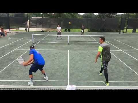Frank Anthony Davis/Jarrett Chirico vs Ben Johns/Jeff Siegel - 5.0 Mens Doubles Pickleball Final
