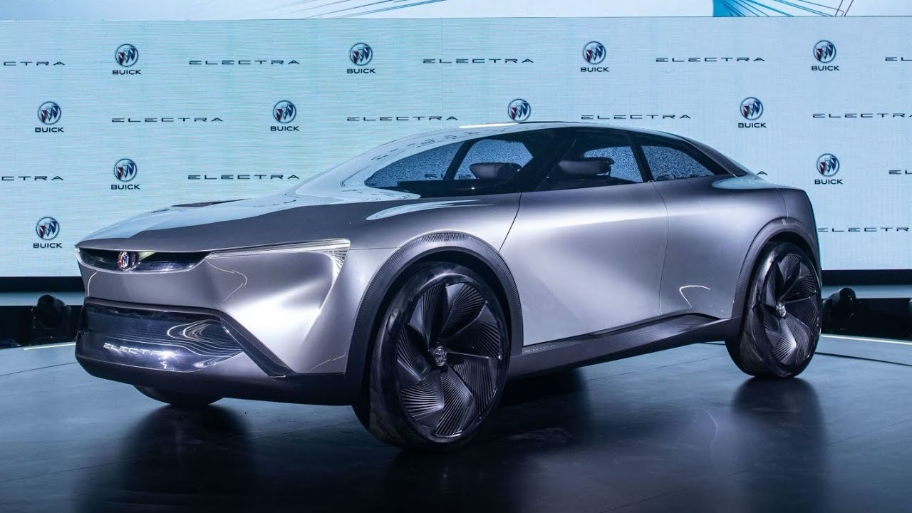 New 5 Buick Electra concept - the future looks amazing