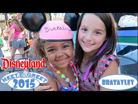 Disneyland Meet and Greet 2015 | Bratayley
