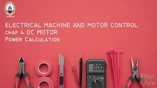 Download CHAP 4 DC Motor Power Calculation
