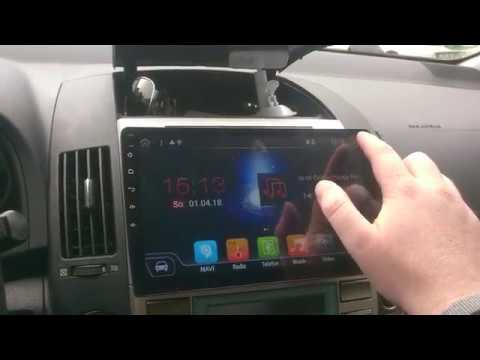 toyota corolla verso xomax 10 android double din review youtube. Black Bedroom Furniture Sets. Home Design Ideas