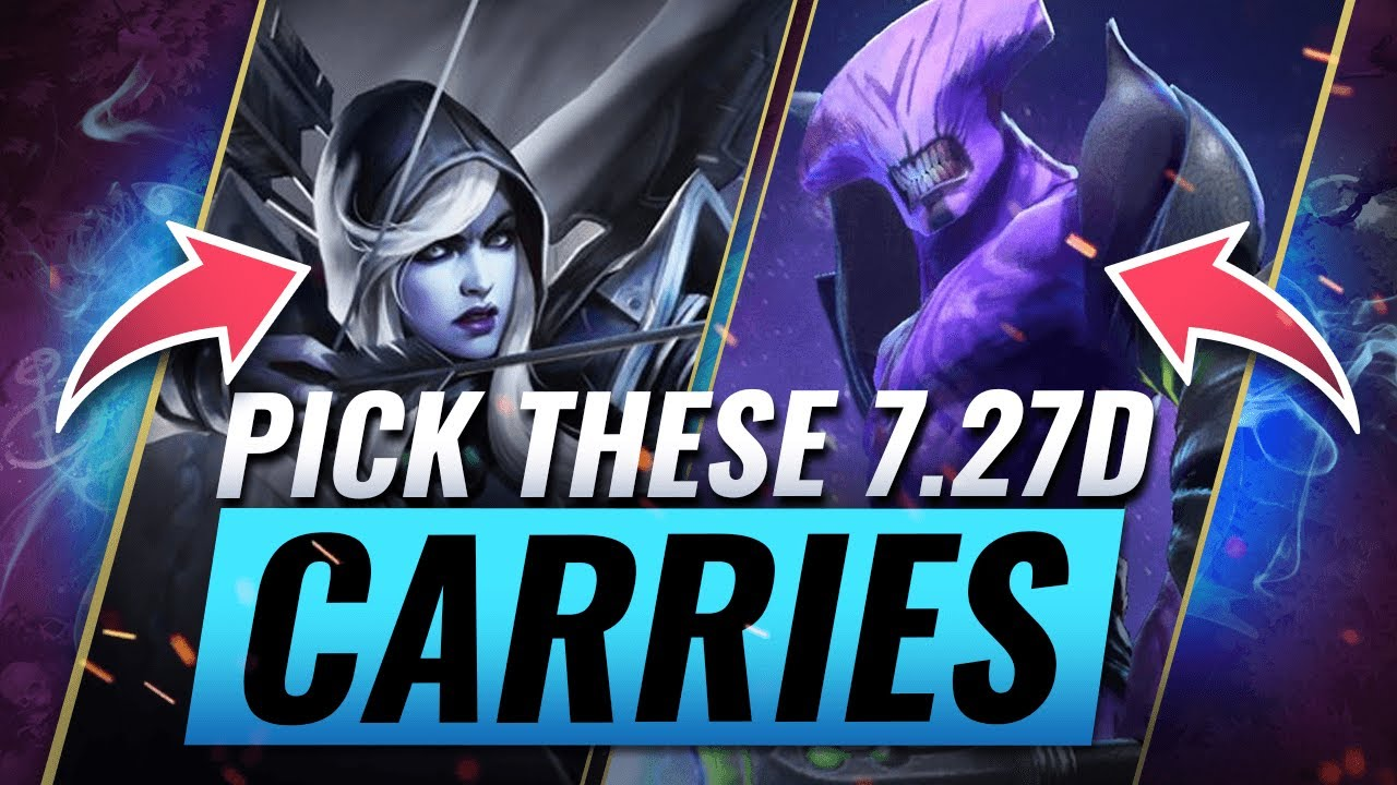 Pick These Op Carries If You Want To Win Dota 2 7 27d Youtube