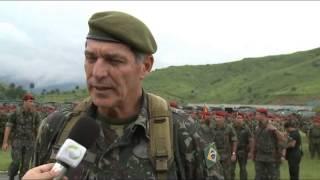 Comandante Militar do Leste faz inspeção logística na Brigada de Infantaria Paraquedista