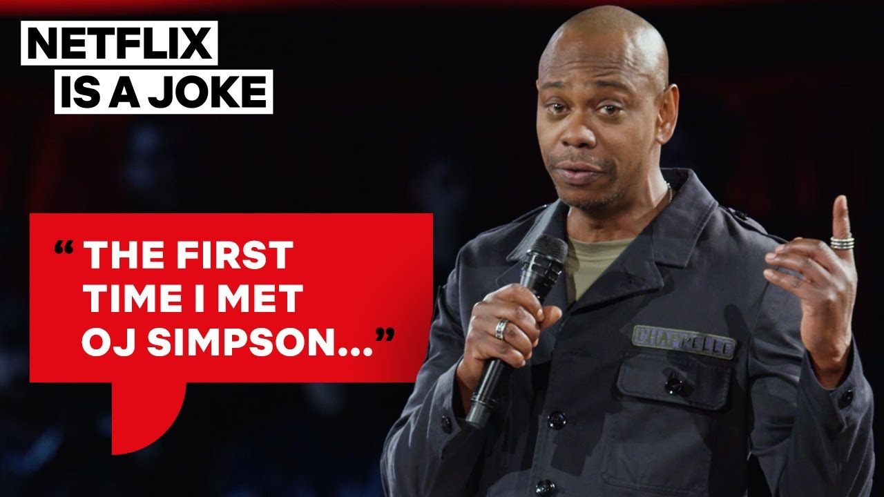 Dave Chappelle Thinks OJ Simpson Might Be Chasing Him | Netflix Is A Joke