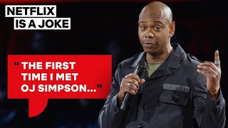 Download Dave Chappelle Thinks OJ Simpson Might Be Chasing Him | Netflix Is A Joke Mp3 and Videos