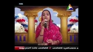 Karayanum parayanum-Mappilappattu/ Lincy Baby Singing in Jaihind TV Moksham thedi 29 07 2013