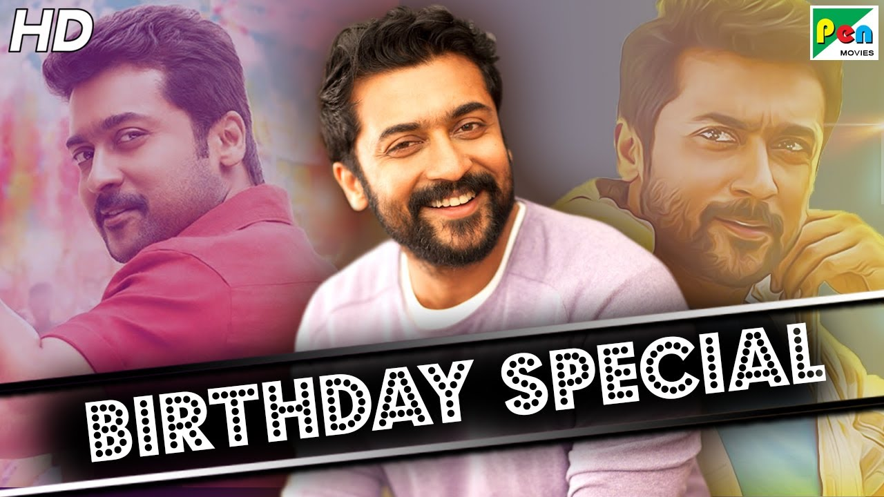 Suriya Birthday Special | Best Of Movie Scenes | Surya Ki Gang | Hindi Dubbed Movie