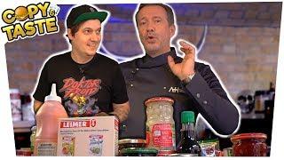 2 STERNE GERICHT nur aus Konserven kochen?? feat. ALEXANDER HERRMANN! 🥫🐟 Copy & Taste #CaT