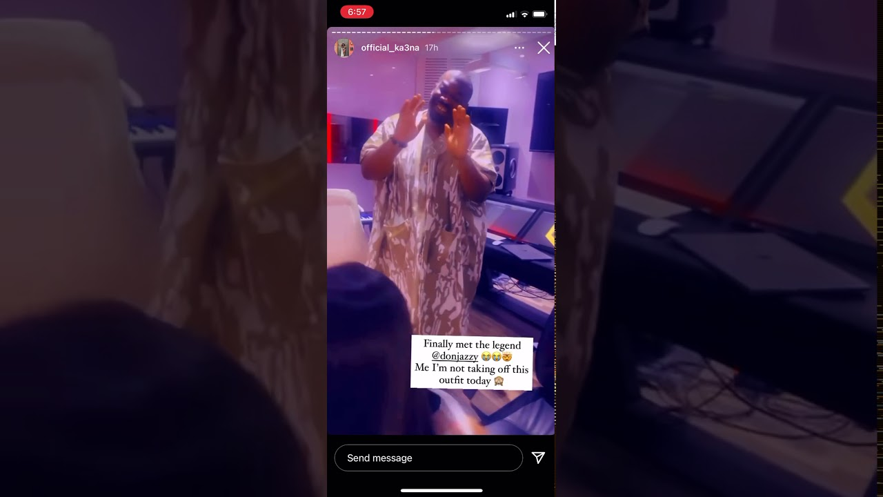 BBNaija: Ka3na Goes On Her Knees as She Meets Don Jazzy For First Time