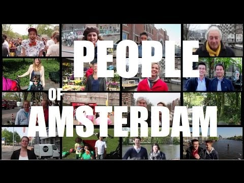 PEOPLE OF AMSTERDAM.