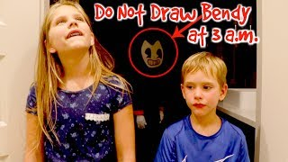 Download DO NOT DRAW BENDY at 3 AM Challenge Bendy and The Ink Machine Hope and Noah SHK Comic Mp3 and Videos
