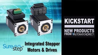 SureStep Integrated Stepper Motors & Stepper Driver Kickstart