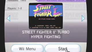 Street Fighter II Turbo  Hyper VC - Virtual Consonle