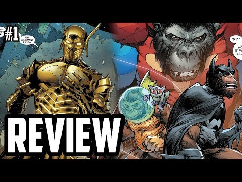 A New Earth Joins The Multiverse! - Dark Knights Rising The Wild Hunt #1