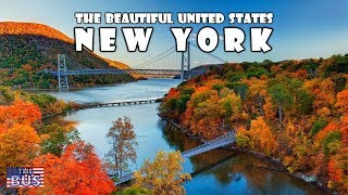 USA New York State Symbols/Beautiful Places/Song I LOVE NEW YORK w/lyrics