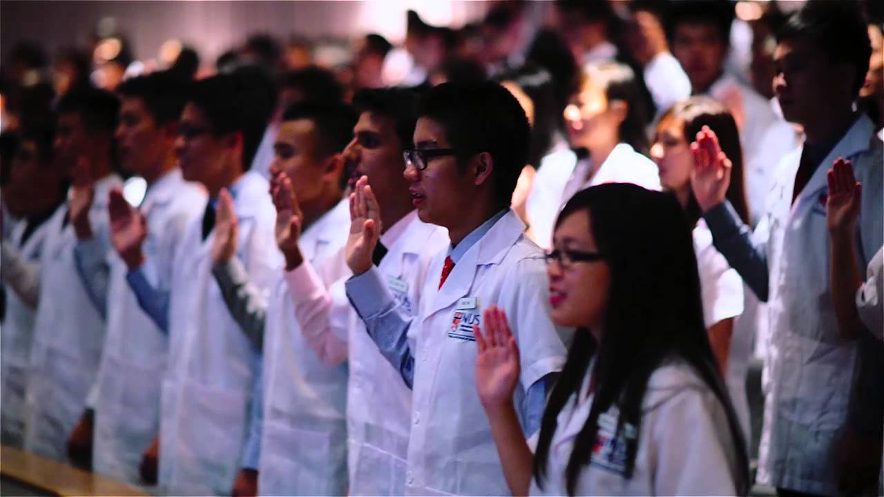 NUS Medicine White Coat Ceremony 2014 - YouTube