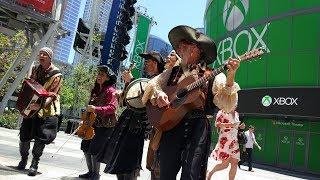 [Xbox E3 2018] Piratas de Sea of Thieves cantando en la vida real🎶😱