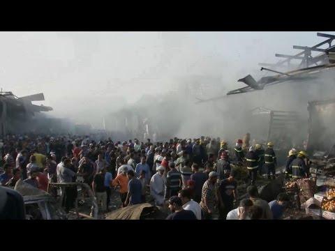 Dozens killed, hundreds hurt in China warehouse blast