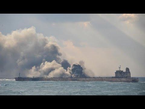 Iran: Staatstrauer nach Untergang des Öltankers Sanchi