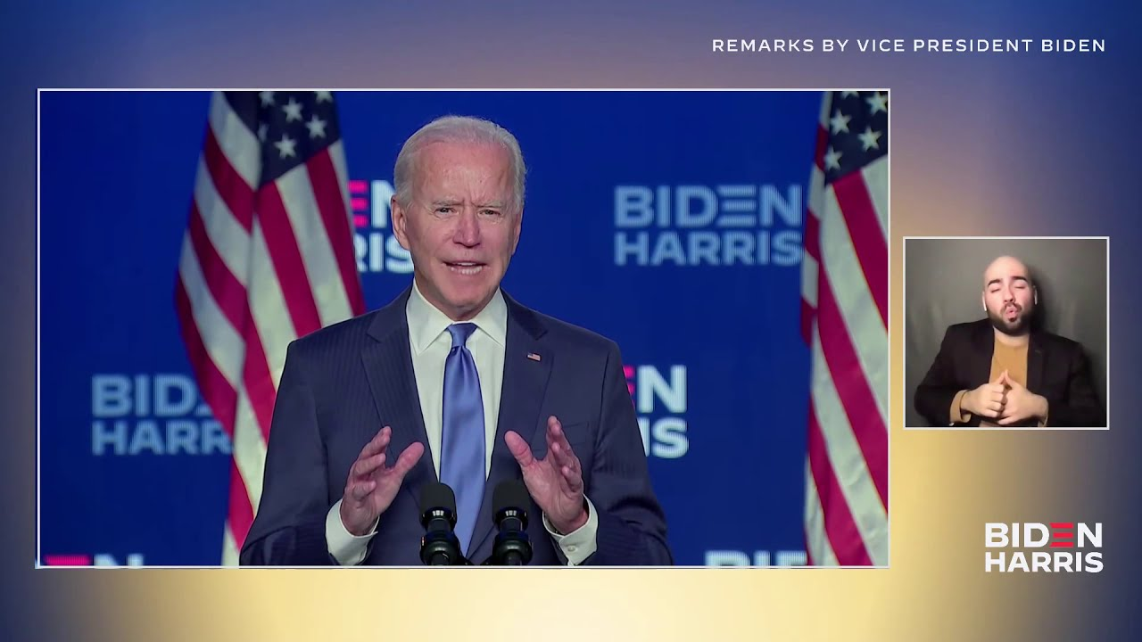Vice President Joe Biden Speaks from Wilmington, Delaware LIVE