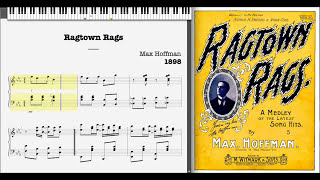 Video Ragtown Rags by Max Hoffman (1898, Ragtime piano) download MP3, 3GP, MP4, WEBM, AVI, FLV Desember 2017