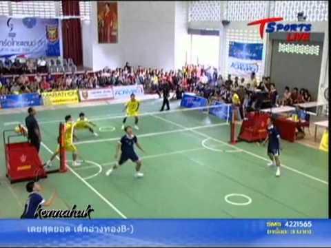 2011 Sepak Takraw Thailand League ''Loei vs Phrae 4 of 6