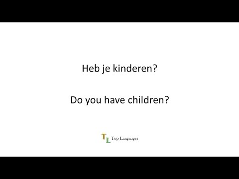 Learn Dutch English - Basic conversation - Nederlands Engels sentences - zinnen 2