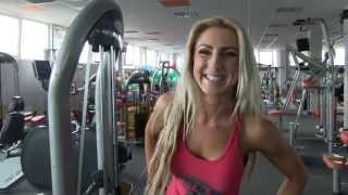 Jana Milová - Legs workout