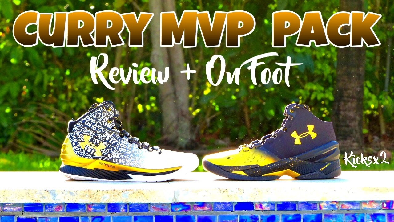 the latest f452e cb130 Under Armour Curry  Back 2 Back MVP Pack  (Review+On Foot)