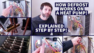 How Defrost Works on a Heat Pump! Explained Step by Step!