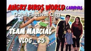 ANGRY BIRDS WORLD CARNIVAL at Doha Festival City Vlog_25